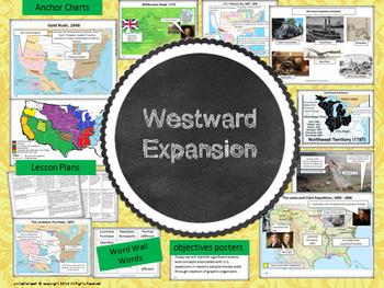 Westward Expansion Notebook, Bulletin Board Set & More