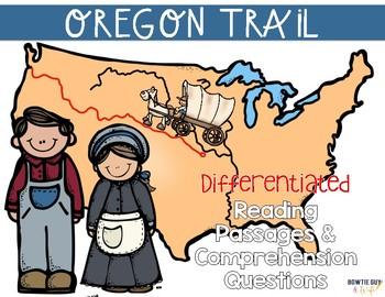 Westward Expansion: Oregon Trail {Differentiated Close Rea