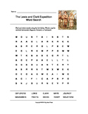 The Lewis and Clark Word Search (Grades 3-5)