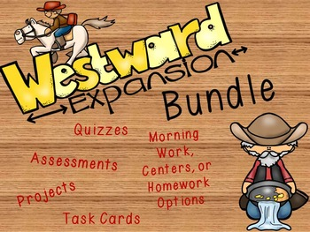 Westward Expansion and Suffrage/Abolitionists Movement Bundle