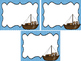 Westward Expansion themed Printable Blank Label Cards. Cla