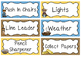 Westward Expansion themed Printable Class Jobs Labels Clas