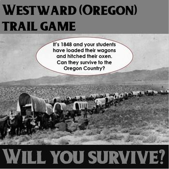 Westward (Oregon) Trail Game