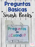 Wh-Question Smash Books: Spanish Version