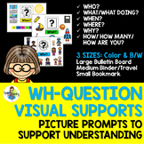 Wh-Question Visual Supports
