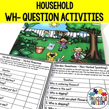 Wh- Questions and Scenes - Home