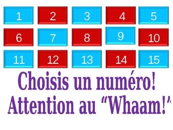 Whaam - Jeu pour revue de vocabulaire