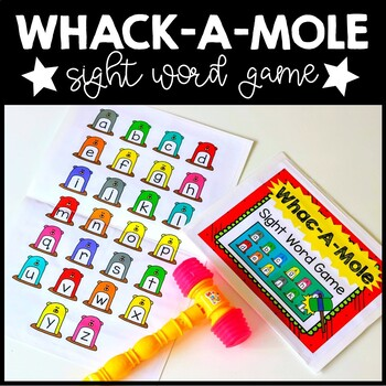 Whac-A-Mole Sight Word Game