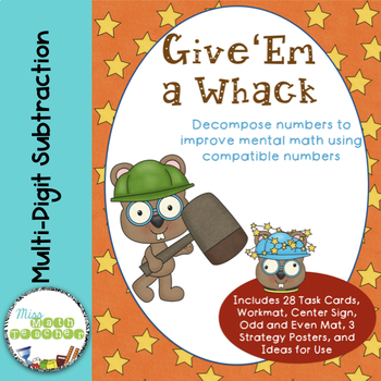 Whack a Number: Subtraction with Compatible Numbers withou