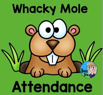 Whacky Mole Attendance for SMARTboard