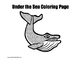 Whale Coloring Pages Trio