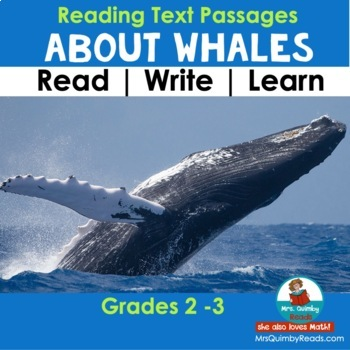 Whales - Informational Text Passages and Writing Responses