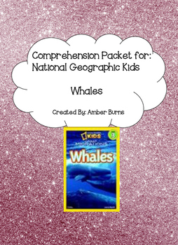 Whales by Laura Marsh: Comprehension Questions