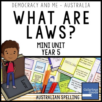 What Are Laws? (Year 5 HASS)