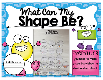 What Can My Shape Be? A Craftivity