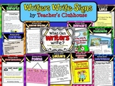 What Writers Write Unit from Teacher's Clubhouse