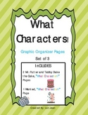 What Characters! Pages {Graphic Organizers for Mr. Putter