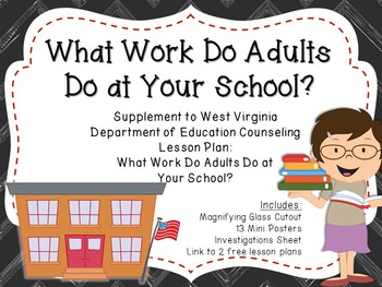 What Do Adults Do at Your School?: Supplement for WV Couns