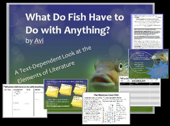 """""""What Do Fish Have to Do with Anything?"""" by Avi: Study Gui"""