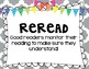 What Do Good Readers Do Freebie (Poster Set)
