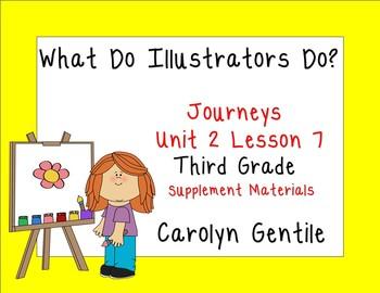 What Do Illustrators Do?  Journeys Unit 2 Lesson 7 Third G