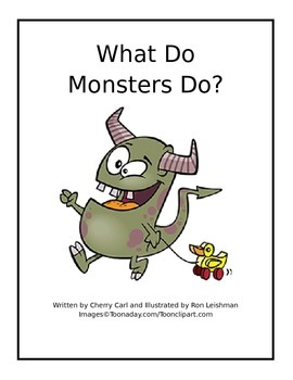What Do Monsters Do? Reproducible Read Aloud