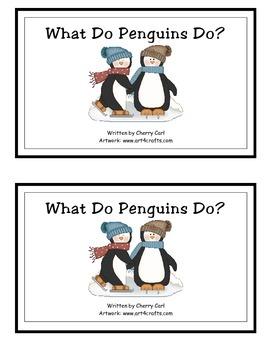 What Do Penguins Do Guided Reader