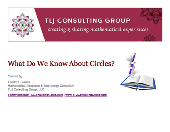 What Do We Know About Circles?