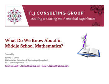 What Do We Know About Middle School Mathematics?