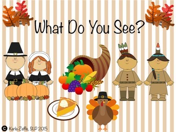 What Do You See, Thanksgiving Book