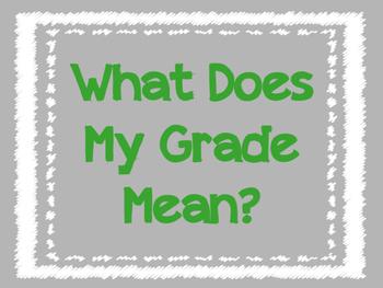 What Does My Grade Mean: Grade Breakdown - A: 100-94