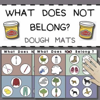 What Does Not Belong Dough Mats (What Doesn't Belong, Categories)