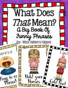 What Does That Mean?  A Big Book of Funny Phrases