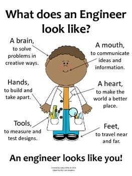 What Does an Engineer Look Like? (Poster) - Boys