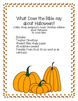 What Does the Bible say about Halloween? A Bible Study for