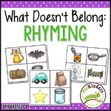 What Doesn't Belong: Rhyming