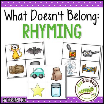 What Doesn't Belong: Rhyming