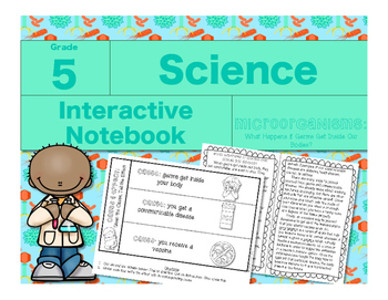Microorganisms Interactive Notebook-What Happens if Germs