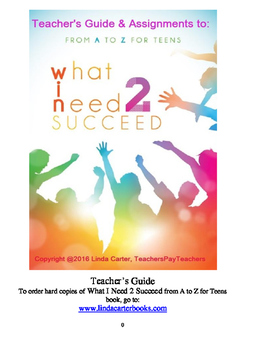 What I Need 2 Succeed Teachers Guide