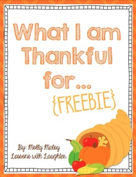 What I am Thankful for from A to Z!