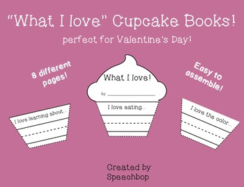 """What I love"" Cupcake Book"