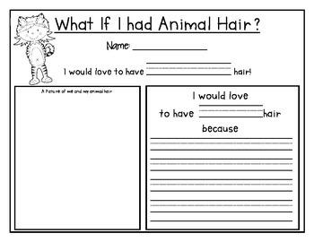 What If I Had Animal Hair Writing
