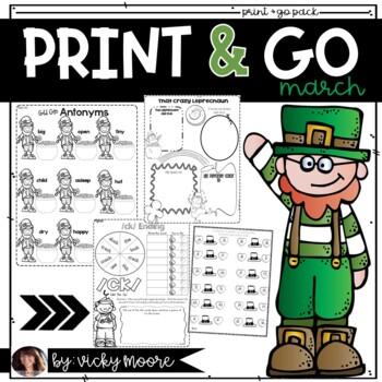 March Print Go Teach