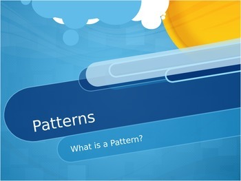 What Is A Pattern? Interactive Smart Board Powerpoint Pres
