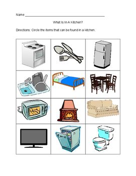 What Is In A Kitchen?