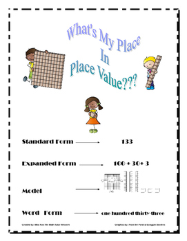 What Is My Place In Place Value-2nd Grade?