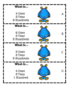 What Is... Place Value Scoot