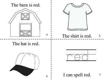 What Is Red? Easy Reader Color Book / Common Core Aligned