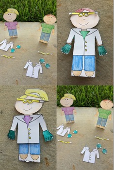 What Is Science?  Sample Lesson Paper Doll Scientist