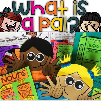What is a Pal? Journeys First Grade Lesson 1